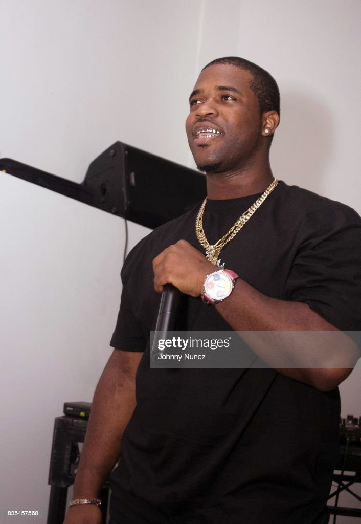 Ferg performs at the A$AP Ferg And Clothing Brand Uniform Launch Pop-Up Shop on August 18, 2017 in New York City.