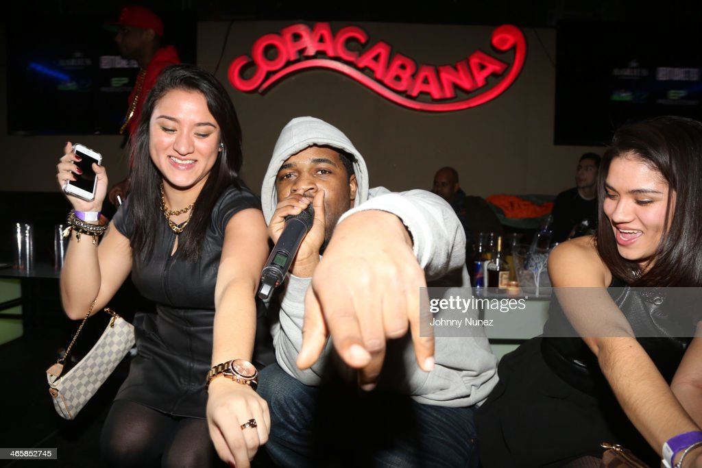 Ferg performs at the Legion Of Boom Kick Off Party at Copacabana on January 29 2014 in New York City