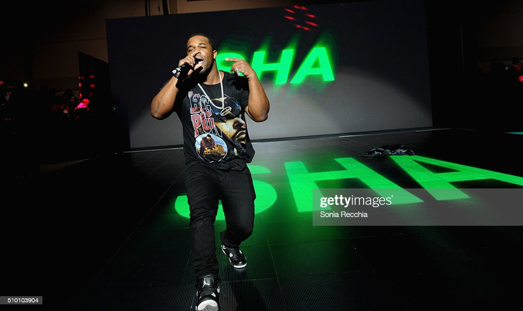 Ferg performs at the Samsung Experience during NBA AllStar 2016 on February 13 2016 in Toronto Canada