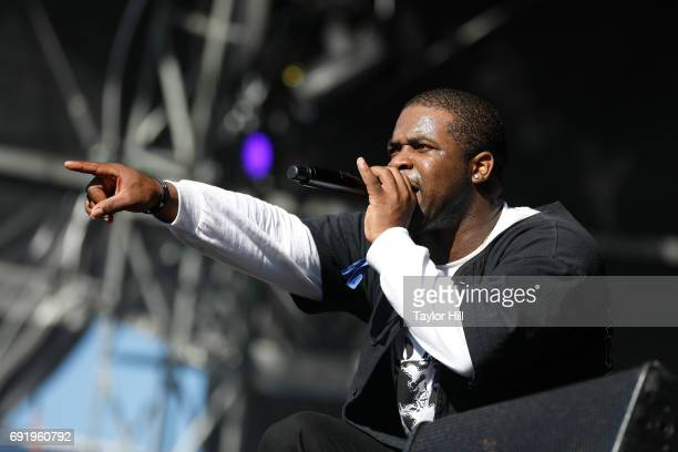 Ferg performs live onstage during 2017 Governors Ball Music Festival Day 2 at Randall's Island on June 3 2017 in New York City