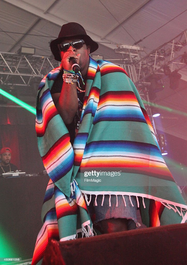 Ferg performs onstage at The Other Tent during day 4 of the 2014 Bonnaroo Arts And Music Festival on June 15 2014 in Manchester Tennessee
