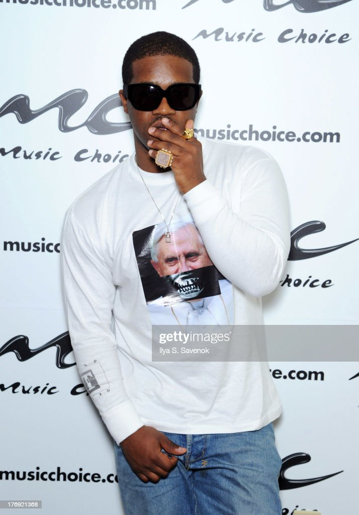 Ferg Stops by Music Choice to Kick off their Take Back Your Music Campaign on August 19 2013 in New York City