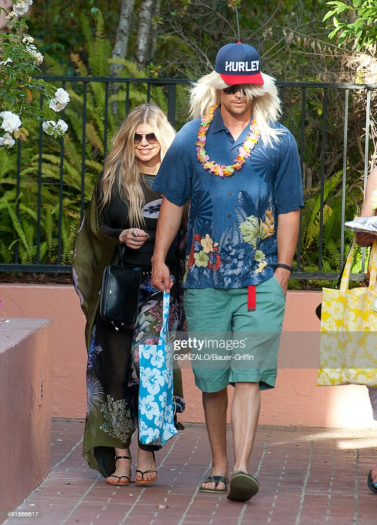Fergie and <a gi-track='captionPersonalityLinkClicked' href=/galleries/search?phrase=Josh+Duhamel&family=editorial&specificpeople=208740 ng-click='$event.stopPropagation()'>Josh Duhamel</a> are seen on May 17, 2014 in Los Angeles, California.