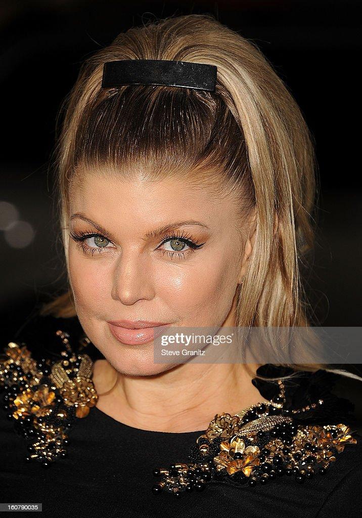 Fergie arrives at the 'Safe Haven' - Los Angeles Premiere at TCL Chinese Theatre on February 5, 2013 in Hollywood, California.