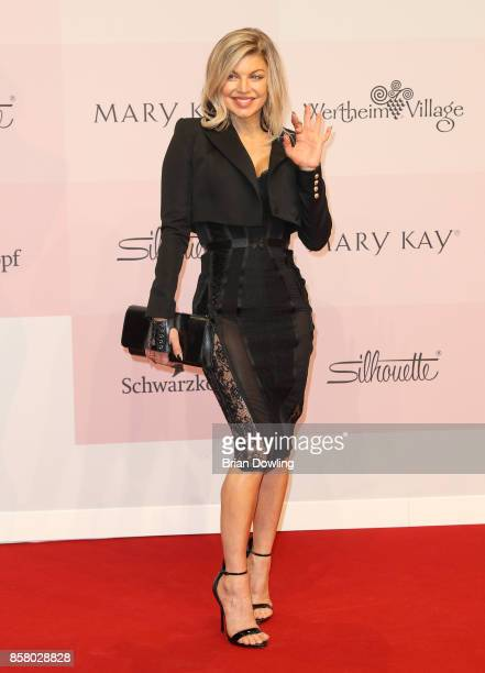 Fergie arrives at Tribute To Bambi at Berlin Station on October 5 2017 in Berlin Germany