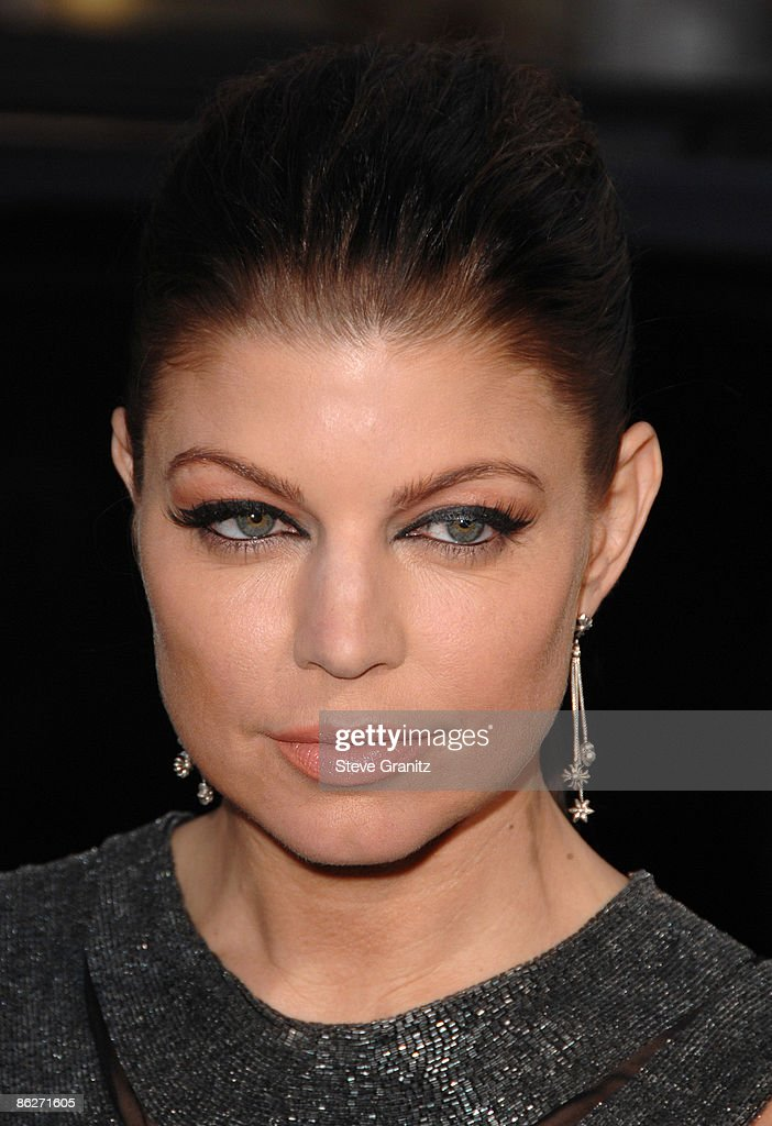 Fergie at the Grauman's Mann Chinese Theater on April 28, 2009 in Hollywood, California.