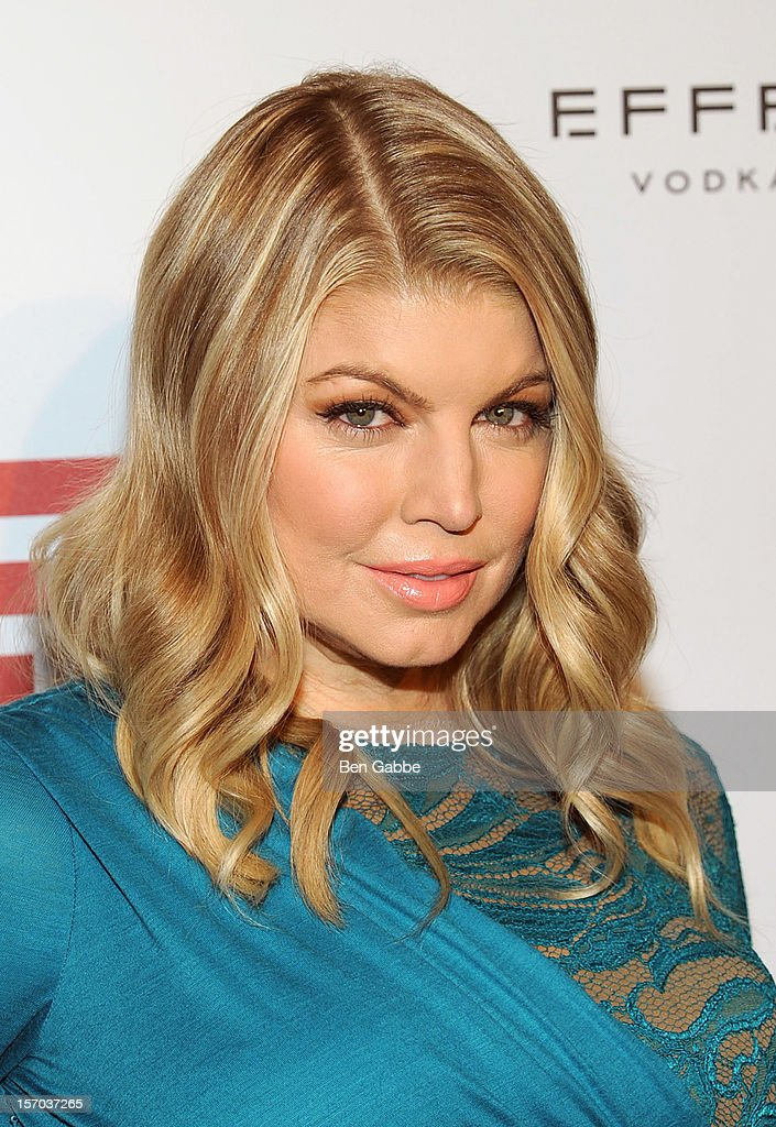 Fergie attends 2012 Footwear News Achievement Awards at MOMA on November 27, 2012 in New York City.