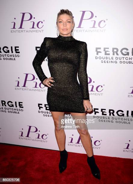 Fergie attends 'Fergie Double Dutchess Seeing Double the Visual Experience' onenight premiere at iPic Fulton Market on September 20 2017 in New York...