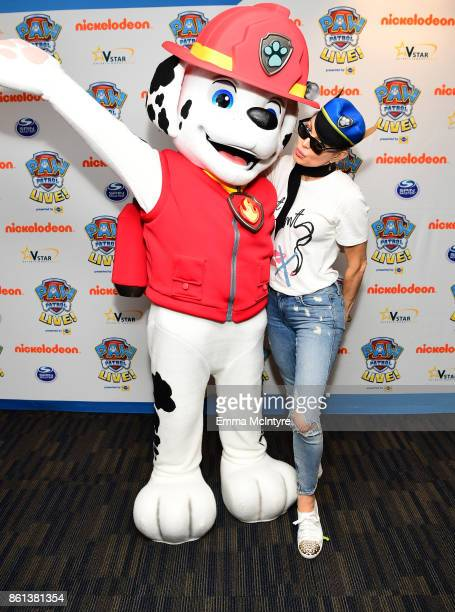 Fergie attends Nickelodeon And VStar Entertainment Group's PAW Patrol Live 'Race to the Rescue' at Dolby Theatre on October 14 2017 in Hollywood...