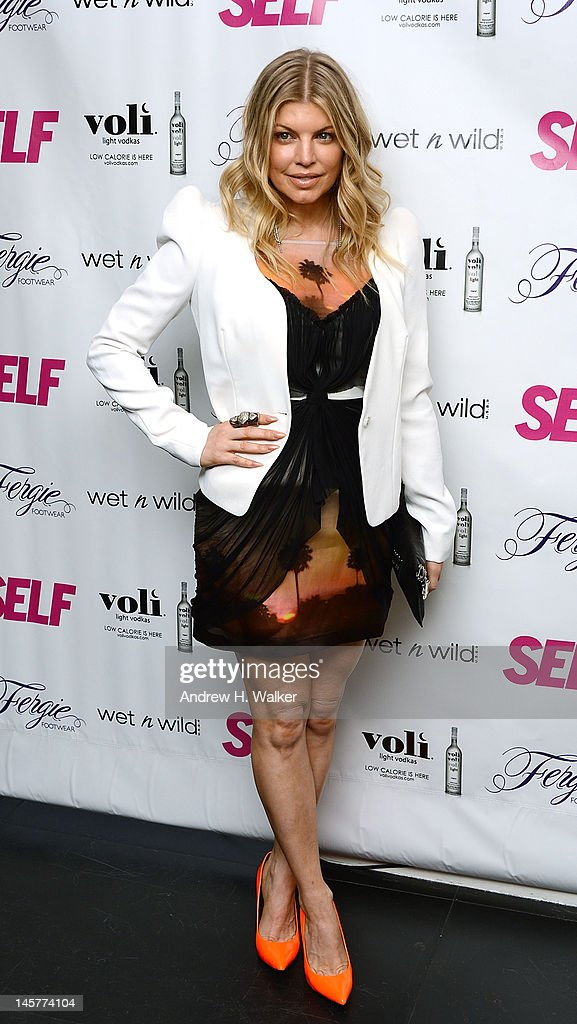 Fergie attends SELF Magazine's July Issue Launch With Fergie on June 5, 2012 in New York City.