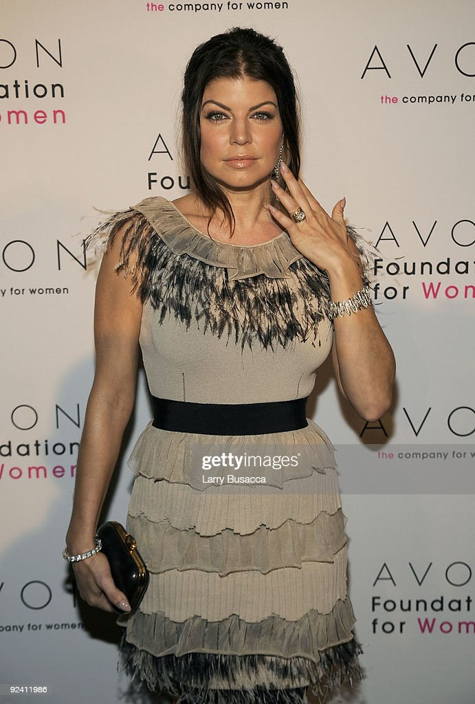 Fergie attends the Avon Foundation's 'Champions Who Change Women's Lives' celebration at Cipriani 42nd Street on October 27, 2009 in New York City.