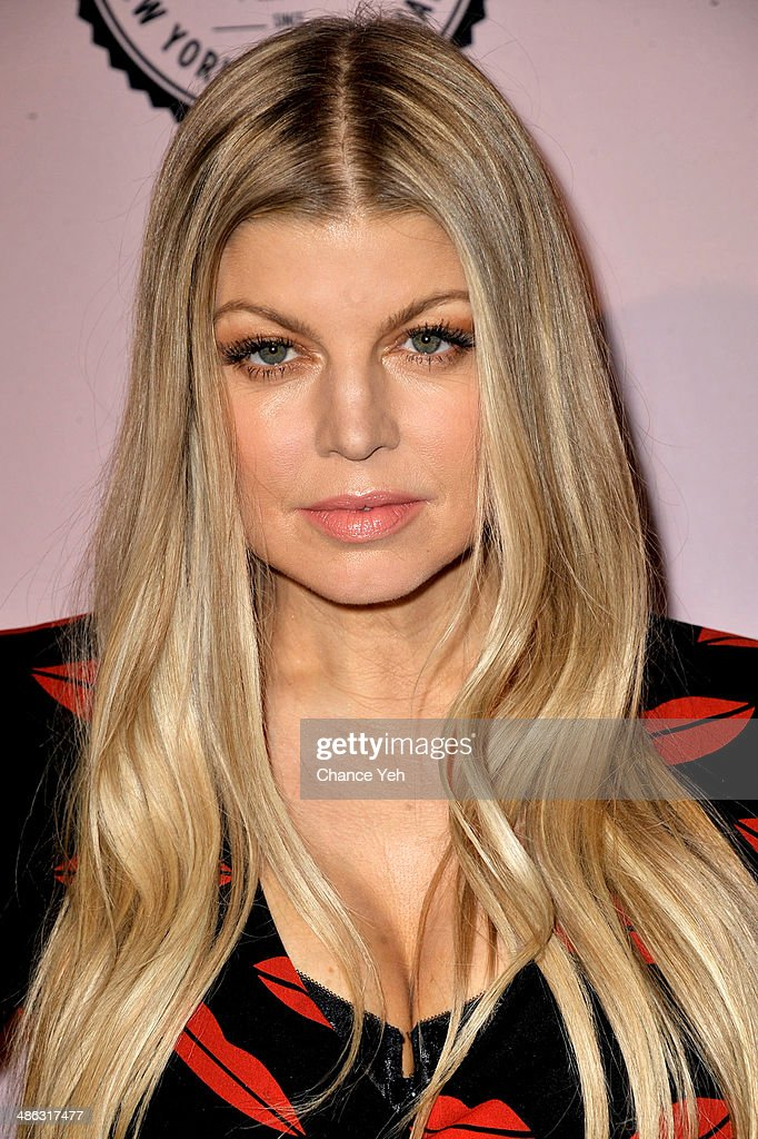 Fergie attends the Brown Shoe Company Celebrates 100 Years on New York Stock Exchange event at 4 World Trade Center on April 23, 2014 in New York City.