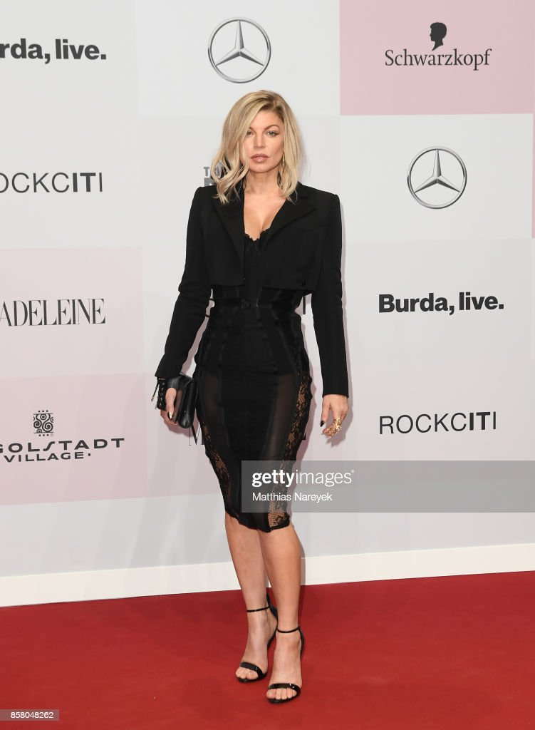 Fergie attends the Tribute To Bambi at Station on October 5, 2017 in Berlin, Germany.