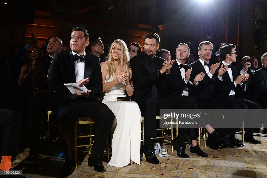 <a gi-track='captionPersonalityLinkClicked' href=/galleries/search?phrase=Fergie+Duhamel&family=editorial&specificpeople=171894 ng-click='$event.stopPropagation()'>Fergie Duhamel</a> and <a gi-track='captionPersonalityLinkClicked' href=/galleries/search?phrase=Josh+Duhamel&family=editorial&specificpeople=208740 ng-click='$event.stopPropagation()'>Josh Duhamel</a> and guests attend the amfAR Inspiration Gala New York 2014 at The Plaza Hotel on June 10, 2014 in New York City.