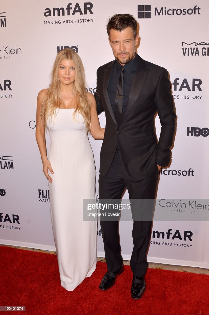 <a gi-track='captionPersonalityLinkClicked' href=/galleries/search?phrase=Fergie+Duhamel&family=editorial&specificpeople=171894 ng-click='$event.stopPropagation()'>Fergie Duhamel</a> and <a gi-track='captionPersonalityLinkClicked' href=/galleries/search?phrase=Josh+Duhamel&family=editorial&specificpeople=208740 ng-click='$event.stopPropagation()'>Josh Duhamel</a> attend the amfAR Inspiration Gala New York 2014 at The Plaza Hotel on June 10, 2014 in New York City.
