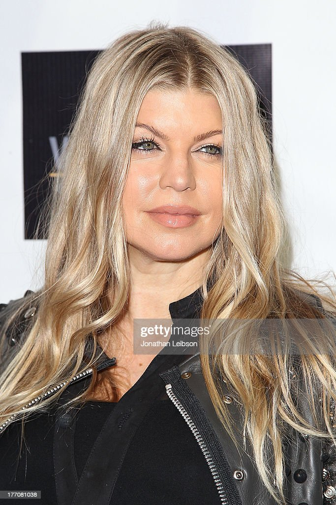 Fergie Duhamel arrives to the 'Scenic Route' Los Angeles Premiere at Chinese 6 Theater Hollywood on August 20, 2013 in Hollywood, California.
