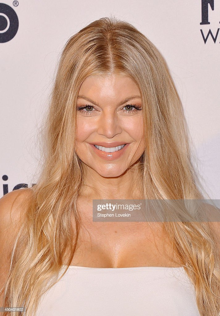 Fergie Duhamel attends the amfAR Inspiration Gala New York 2014 at The Plaza Hotel on June 10, 2014 in New York City.