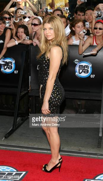 Fergie during 18th Annual MuchMusic Video Awards Arrivals at CHUM / City Building in Toronto Ontario Canada