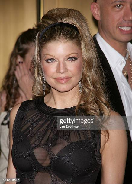 Fergie during Conde Nast Media Group Kicks Off New York Fall Fashion Week with 3rd Annual Fashion Rocks Concert at Radio City Music Hall Arrivals at...