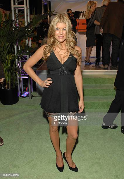 Fergie during VH1 Big in '06 Red Carpet at Sony Studios in Culver City California United States