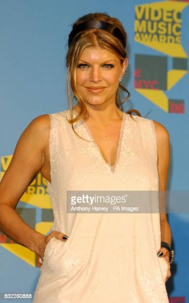 Fergie from Black Eyed Peas at the MTV Video Music Awards at Radio City New York