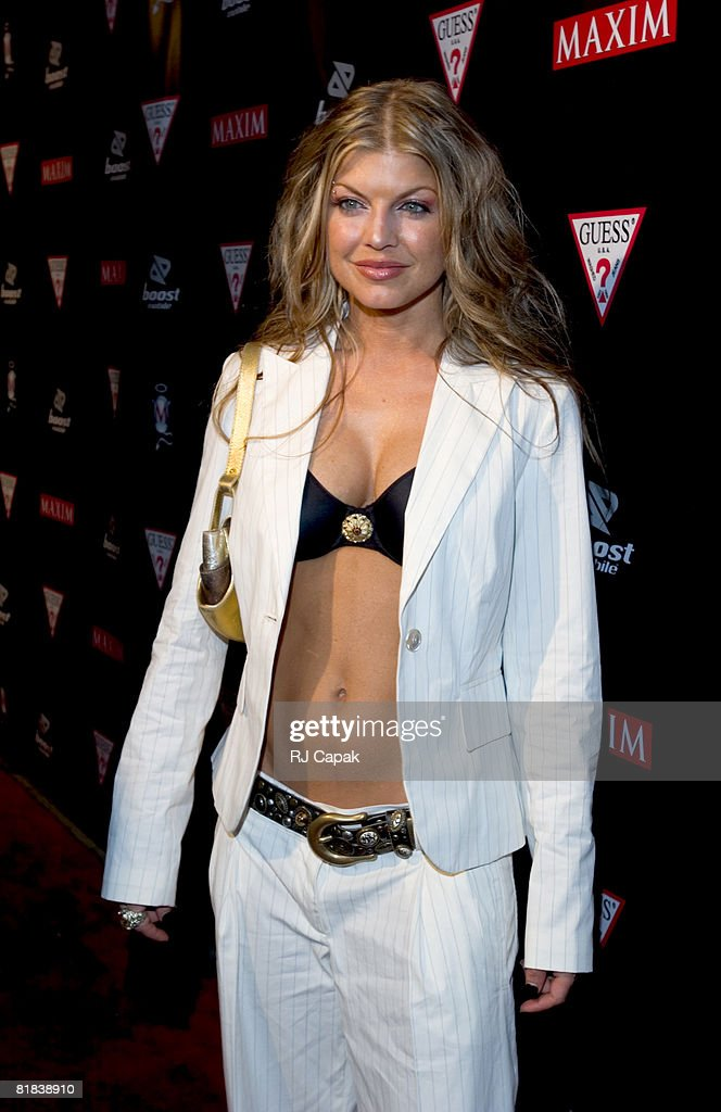 Fergie, from Black Eyed Peas
