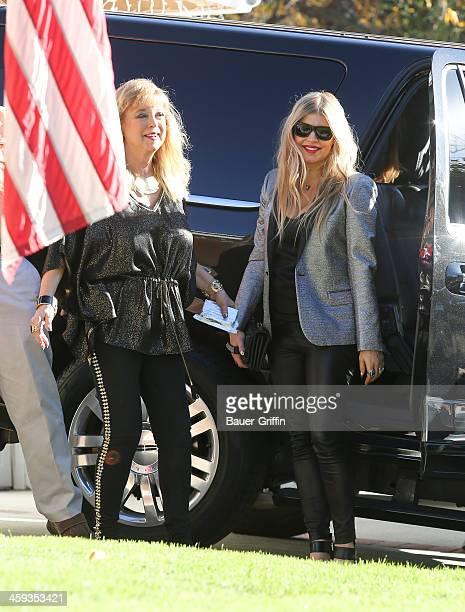 Fergie is seen on December 25 2013 in Los Angeles California