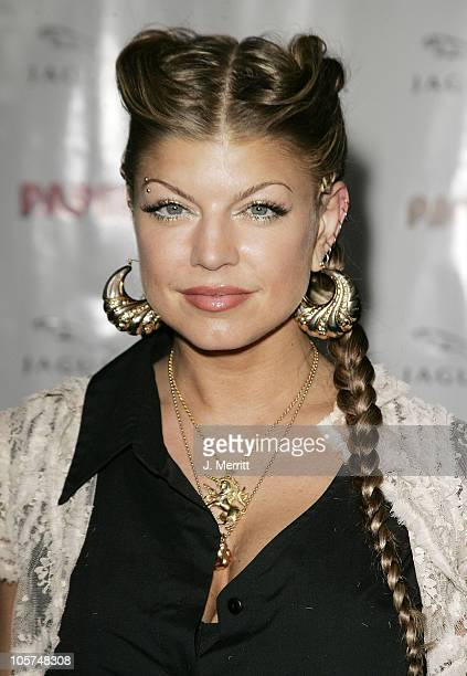 Fergie of Black Eyed Peas during Paper Magazine and Jaguar 2005 Celebrate the 8th Annual 'Beautiful People' Issue at Roosevelt Hotel Hollywood in...