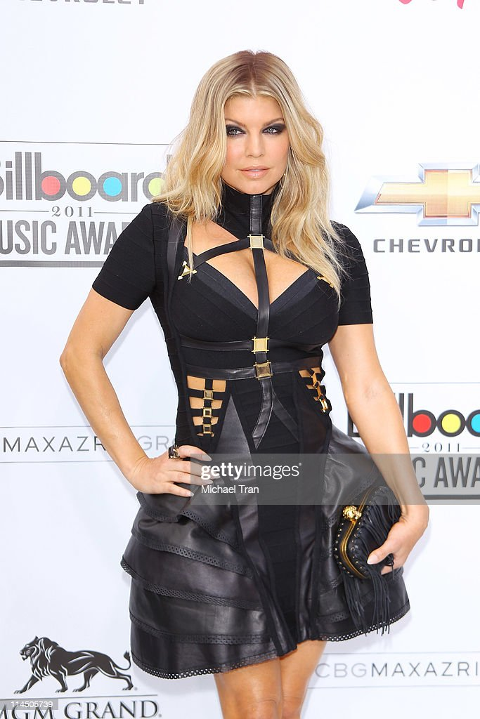 Fergie of The Black Eyed Peas arrives at the 2011 Billboard Music Awards held at MGM Grand Garden Arena on May 22, 2011 in Las Vegas, Nevada.