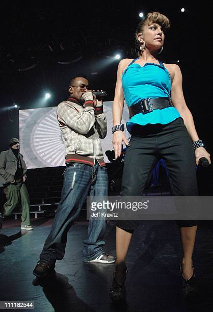 Fergie of the Black Eyed Peas during Black Eyed Peas 'Honda Civic Tour' at Gibson Ampitheatre in Los Angeles Day 2 at Gibson Ampitheatre in Los...