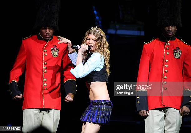 Fergie performing at the Event Center in the Borgata Casino Hotel Spa on December 29 2007 in Atlantic City New Jersey