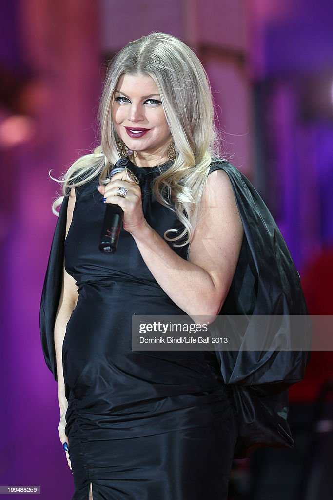Fergie performs at the 'Life Ball 2013 - Show' at City Hall on May 25, 2013 in Vienna, Austria.