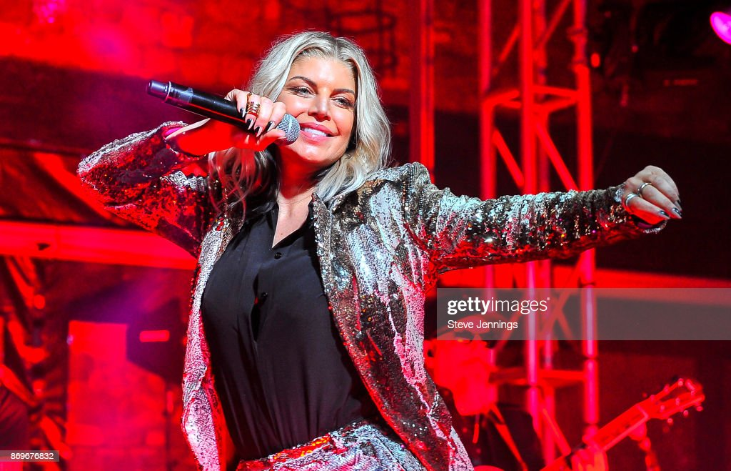 Fergie performs on Day 1 of Live In The Vineyard 2017 on November 2, 2017 in Napa, California.