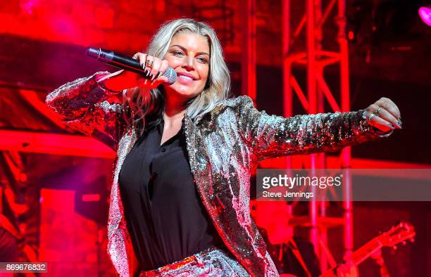 Fergie performs on Day 1 of Live In The Vineyard 2017 on November 2 2017 in Napa California
