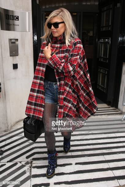 Fergie seen at BBC Radio 2 on November 20 2017 in London England