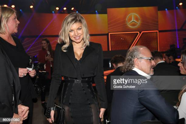 Fergie singer of the band 'Black Eyed Peas' during the 'Tribute To Bambi' gala at Station on October 5 2017 in Berlin Germany