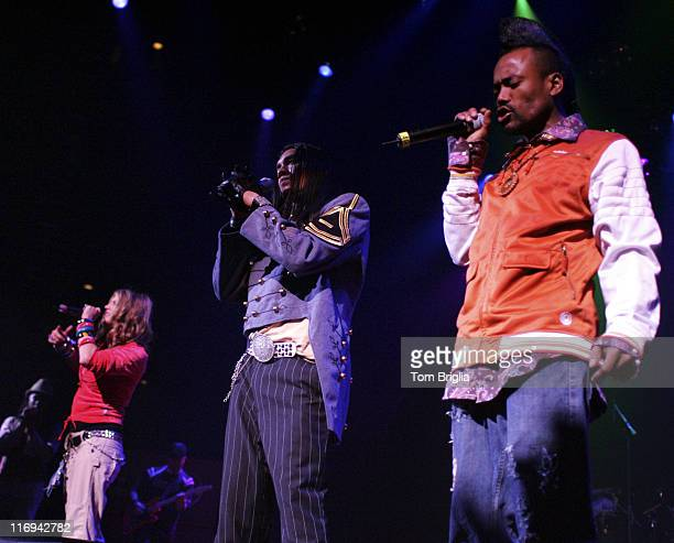 Fergie Taboo and apldeap of Black Eyed Peas during Black Eyed Peas in Concert at the House of Blues in Atlantic City July 4 2005 at House of Blues...