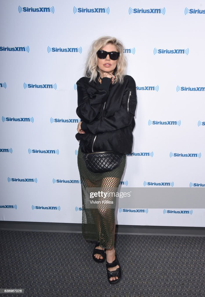 Fergie Visits 'Hits 1 in Hollywood' On SiriusXM Hits 1 Channel At The SiriusXM Studios In Los Angeles