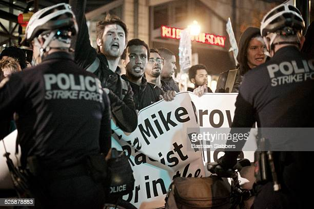 Ferguson Protest in Center City Philadelphia