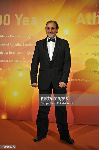 Fermin Cacho attends the IAAF Centenary Gala at Cataluna National Art Museum on November 24 2012 in Barcelona Spain