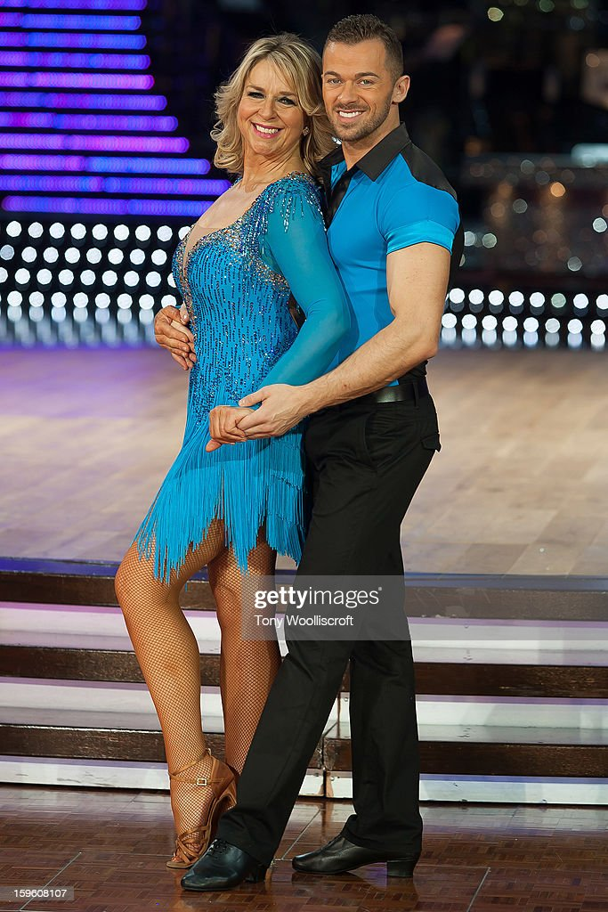 <a gi-track='captionPersonalityLinkClicked' href=/galleries/search?phrase=Fern+Britton&family=editorial&specificpeople=645518 ng-click='$event.stopPropagation()'>Fern Britton</a> and Artem Chigvintsev attends a photocall ahead of the Strictly Come Dancing Live Tour at NIA Arena on January 17, 2013 in Birmingham, England.
