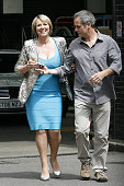 Fern Britton and Phil Vickery sighting on July 17 2009 in London England It was Fern Britton's last time presenting 'This Morning'