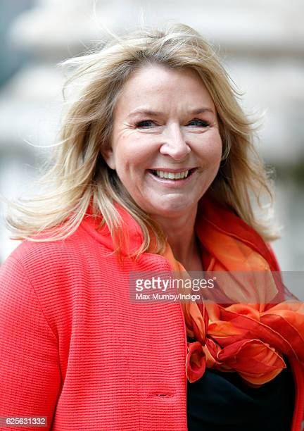 Fern Britton attends a Service of Thanksgiving to celebrate 60 years of The Duke of Edinburgh's Award at Westminster Abbey on November 24 2016 in...