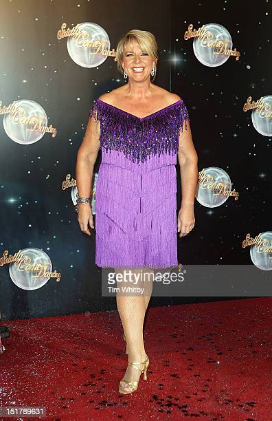 Fern Britton attends the launch of Strictly Come Dancing 2012 at BBC Television Centre on September 11 2012 in London England