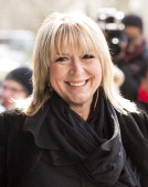 Fern Britton attends the TRIC awards at The Grosvenor House Hotel on March 12 2013 in London England