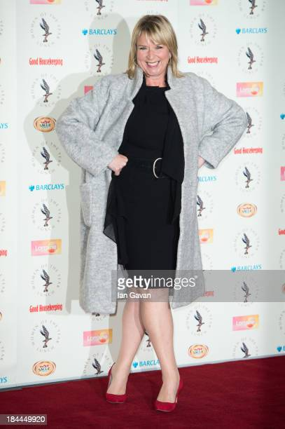 Fern Britton attends the Women of the Year lunch at Intercontinental Hotel on October 14 2013 in London England