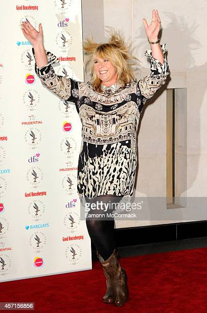 Fern Britton attends the Women Of The Year lunch at InterContinental Park Lane Hotel on October 13 2014 in London England