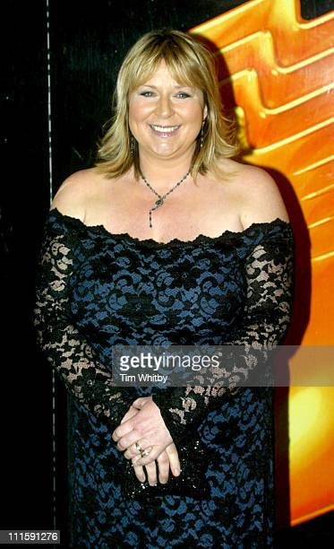 Fern Britton during Royal Television Society Awards Arrivals at Grosvenor House in London Great Britain