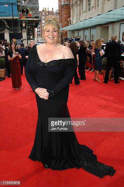 Fern Britton during The 2006 British Academy Television Awards Arrivals at Grosvenor House in London Great Britain