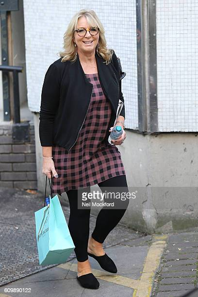 Fern Britton seen at the ITV Studios on September 23 2016 in London England